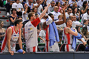 DESCRIZIONE : Campionato 2014/15 Serie A Beko Dinamo Banco di Sardegna Sassari - Grissin Bon Reggio Emilia Finale Playoff Gara6<br /> GIOCATORE : Panchina Grissin Bon Reggio Emilia<br /> CATEGORIA : Ritratto Esultanza<br /> SQUADRA : Grissin Bon Reggio Emilia<br /> EVENTO : LegaBasket Serie A Beko 2014/2015<br /> GARA : Dinamo Banco di Sardegna Sassari - Grissin Bon Reggio Emilia Finale Playoff Gara6<br /> DATA : 24/06/2015<br /> SPORT : Pallacanestro <br /> AUTORE : Agenzia Ciamillo-Castoria/C.Atzori