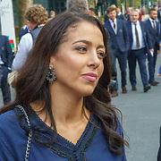 NLD/Hilversum/20180903 -   Voetbalgala 2018, Hakim Ziyech en familie