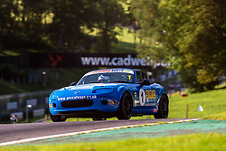 Luke Herbert pictured while competing in the BRSCC Mazda MX-5 SuperCup Championship. Picture taken at Cadwell Park on August 1 & 2, 2020 by BRSCC photographer Jonathan Elsey