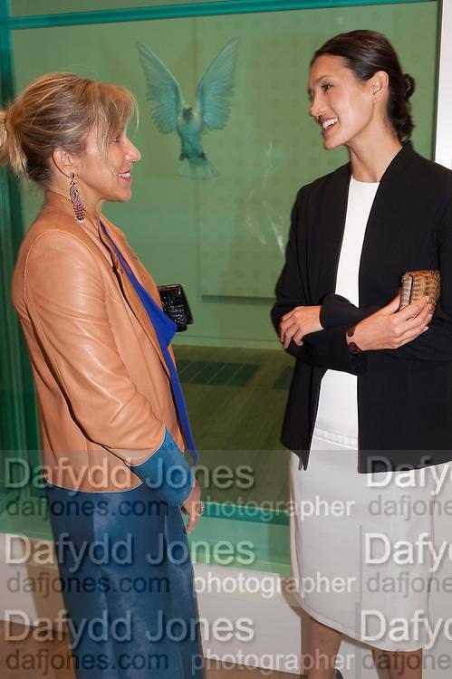 MAYA NORMAN; ELENA GEUNA, Damien Hirst, Tate Modern: dinner. 2 April 2012.