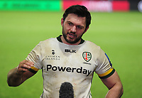 Rugby Union - 2020 / 2021 Gallagher Premiership - Harlequins vs London Irish - The Stoop<br /> <br /> London Irish captain Rogerson talks after the match after drawing the match late on<br /> <br /> COLORSPORT/ANDREW COWIE