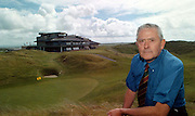 Jim McKenna, secretary-manager, Ballybunion Golf Club  pictured beside the 18th green and clubhouse..©Picture by Don MacMonagle.6 Port Road, Killarney Co. Kerry, Ireland.Tel: 00-353+64+32833