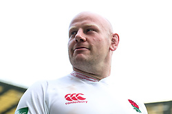 Dan Cole after England win 57-15 - Rogan/JMP - 24/08/2019 - RUGBY UNION - Twickenham Stadium - London, England - England v Ireland - Quilter Series.