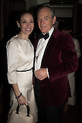LADY JENKINS; SIR SIMON JENKINS, Nicky Haslam hosts dinner at  Gigi's for Leslie Caron. 22 Woodstock St. London. W1C 2AR. 25 March 2015