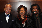 """15 November 2010- New York, NY- l to r: Former Mayor David Dinkins, Valerie Simpson and Nick Simpson at The National Action Network's 1st Annual Triumph Awards honoring """"Our Best"""" in the Arts, Entertainment, & Sports held at Jazz at Lincoln Center on November 15, 2010 in New York City. Photo Credit: Terrence Jennings"""