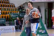 DESCRIZIONE : Campionato 2015/16 Serie A Beko Dinamo Banco di Sardegna Sassari - Consultinvest VL Pesaro<br /> GIOCATORE : Stefano Sardara Giacomo Devecchi<br /> CATEGORIA : Before Pregame<br /> SQUADRA : Dinamo Banco di Sardegna Sassari<br /> EVENTO : LegaBasket Serie A Beko 2015/2016<br /> GARA : Dinamo Banco di Sardegna Sassari - Consultinvest VL Pesaro<br /> DATA : 23/11/2015<br /> SPORT : Pallacanestro <br /> AUTORE : Agenzia Ciamillo-Castoria/L.Canu