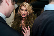 MEREDITH OSTROM Polly Morgan 30th birthday. The Ivy Club. London. 20 January 2010