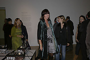 Janet Street-Porter, Turner Prize 2006 private view of an exhibition of work by this year's shortlist (Rebecca Warren, Tomma Abts, Phil Collins and Mark Titchner) for visual arts prize. Tate Brittain. London 3 October 2006. -DO NOT ARCHIVE-© Copyright Photograph by Dafydd Jones 66 Stockwell Park Rd. London SW9 0DA Tel 020 7733 0108 www.dafjones.com