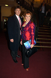 ESTHER RANTZEN and MICHAEL BOWEN at the opening night of Cirque Du Soleil's 'Alegria' held at the Royal Albert Hall, London on 5th January 2007.<br /><br />NON EXCLUSIVE - WORLD RIGHTS