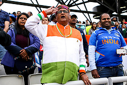 India fans - Mandatory by-line: Robbie Stephenson/JMP - 09/07/2019 - CRICKET - Old Trafford - Manchester, England - India v New Zealand - ICC Cricket World Cup 2019 - Semi Final