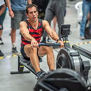 2:50 PM- APL #31- Men?s 500m Masters A, Open, U19<br /> <br /> NZ Indoor Champs, raced at Avanti Drome, Cambridge, New Zealand, Saturday 23rd November 2019 © Copyright Steve McArthur / @rowingcelebration www.rowingcelebration.com