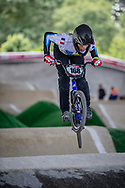#168 (CURRON Raphael) FRA at Round 5 of the 2019 UCI BMX Supercross World Cup in Saint-Quentin-En-Yvelines, France
