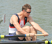 Caversham, Great Britain.  GBR M4-, Rick EGINGTON,  GB Rowing media day, GB Rowing Training Centre, Caversham. Tuesday,  18/05/2010 [Mandatory Credit. Peter Spurrier/Intersport Images]
