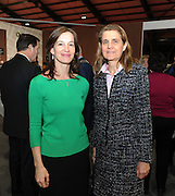 Pictured at the Holiday World Show Ambassador Reception were from left to right: Kristi Karelsohn Ambassador of Estonia and Jaana Teckenberg Ambassador of Finland.<br />Photograph: Aidan Crawley