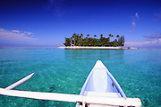 Outrigger Canoe, Bora Bora, French Polynesia