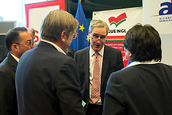 April 25, 2017 - Brussels, Bxl, Belgium - Michael Ignatieff , rector of the CEU during conference on Future of the Central European University at European Parliament headquarters  in Brussels, Belgium on 25.04.2017 by Wiktor Dabkowski (Credit Image: © Wiktor Dabkowski via ZUMA Wire)