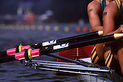 Atlanta, USA,   AUS W2X, with arm tattoo's at the 1996, Olympic Rowing Regatta at Lake Lanier, Gainsville Georgia,  [Photo Peter Spurrier/Intersport Images]