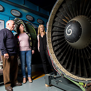 13.09.17.            <br /> Aviation Finance Finuas Network, Introduction To Aviation Leasing, Air Ventures, Shannon. Pictured are, Paddy O'Meara, Instructor, Breda Frawley, Engine Lease Finance and Yvonne Walsh, Engine Lease Finance. Picture: Alan Place