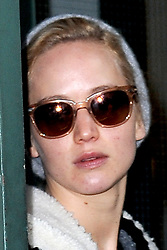 Nov. 25, 2015 - New York, NY, USA - November 25, 2015 New York City..Jennifer Lawrence leaving TriBeca Film Center Office with her dog Pippi in New York City on November 25, 2015...Credit: Kristin Callahan/ACE Pictures.. (Credit Image: © Callahan/Ace Pictures via ZUMA Press)