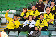 Burton Albion fans before the EFL Sky Bet League 1 match between Plymouth Argyle and Burton Albion at Home Park, Plymouth, England on 20 October 2018.