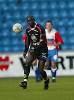 Fotball - Tippeligaen 2003 - 14.04.2003<br /> Lyn v Brann 0-0<br /> Ullevaal Stadion<br /> Seyi George Olofinjana - Brann<br /> Foto: Morten Olsen, Digitalsport