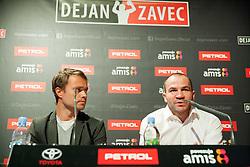 Press conference of Dejan Zavec alias Jan Zaveck, Slovenian professional boxer and former IBF Welterweight Champion, on December 11, 2013 in Krizanke, Ljubljana, Slovenia. Photo by Vid Ponikvar / Sportida