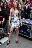 Jennifer Lopez unveils Boys & Girls Campaign in Times Square on June 9, 2010 in Times Square