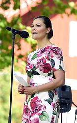 June 6, 2017 - JäRfäLla, Sweden - Crown princess Victoria..National Day celebrations, Görvälns slott, Järfälla, 2017-06-06..(c) Karin Törnblom / IBL....Nationaldagen firas, Görvälns slott, Järfälla, 2017-06-06 (Credit Image: © Karin TöRnblom/IBL via ZUMA Press)