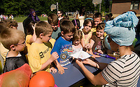 Harry Potter themed Field Day activities at Elm Street School June 18, 2010.