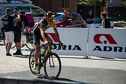 Timothy Guy (AUS) of Ljubljana Gusto Santic before 2nd Stage of 26th Tour of Slovenia 2019 cycling race between Maribor and Celje (146,3 km), on June 20, 2019 in  Slovenia. Photo by Peter Podobnik / Sportida