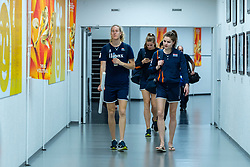 19-10-2018 JPN: Semi Final World Championship Volleyball Women day 20, Yokohama<br /> Serbia - Netherlands / Nicole Koolhaas #22 of Netherlands, Yvon Belien #3 of Netherlands