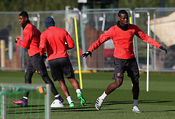 Paul Pogba of Manchester United  - Mandatory by-line: Matt McNulty/JMP - 19/10/2016 - FOOTBALL - Manchester United - Training session ahead of Europa League game against Fenerbahce