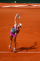 June 3, 2018 - Paris, U.S. - PARIS, FRANCE  - JUNE 03: YULIA PUTINTSEVA (KAZ) during the French Open on June 03, 2018, at Stade Roland-Garros in Paris, France.(Photo by Chaz Niell/Icon Sportswire) (Credit Image: © Chaz Niell/Icon SMI via ZUMA Press)