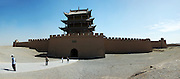 """JIAYUGUAN, CHINA - (CHINA OUT) <br /> <br /> """"The Silk Road"""" Adopted Into World Heritage List<br /> <br /> A general view of the Crescent Moon Spring at """"The Silk Road"""" , Gansu province of China. """"The Silk Road"""" was adopted into the World Heritage List on June 22 during the 38th session of the World Heritage Committee. 22 of the 33 heritage points of """"The Silk Road"""" are in China.<br /> ©Exclusivepix"""