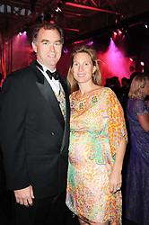 GARRET & FLEUR HAINES at ARTiculate, Pratham UK Fundraising Gala held at The Old Billingsgate Market, City Of London on  11th September 2010 *** Local Caption *** Image free to use for 1 year from image capture date as long as image is used in context with story the image was taken.  If in doubt contact us - info@donfeatures.com<br /> GARRET & FLEUR HAINES at ARTiculate, Pratham UK Fundraising Gala held at The Old Billingsgate Market, City Of London on  11th September 2010