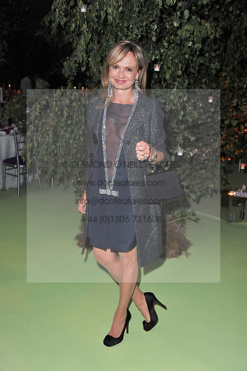 COUNTESS MAYA VON SCHONBURG at a dinner hosted by Cartier in celebration of the Chelsea Flower Show held at Battersea Power Station, 188 Kirtling Street, London SW8 on 23rd May 2011.