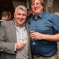 REPRO FREE<br /> Pictured at the opening of the 43rd Kinsale Gourmet Festival at the Blue Haven were chef Martin Shanahan from Fishy Fishy and restauranteur Tom Kay from The Supper Club Kinsale.<br /> Picture. John Allen