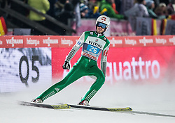 27.12.2016, Schattenbergschanze, Oberstdorf, GER, FIS Weltcup Ski Sprung, Vierschanzentournee, Oberstdorf, Wertungsdurchgang, im Bild Andreas Stjernen (NOR) // Andreas Stjernen of Norway during his Competition Jump for the Four Hills Tournament of FIS Ski Jumping World Cup at the Schattenbergschanze in Oberstdorf, Germany on 2016/12/27. EXPA Pictures © 2016, PhotoCredit: EXPA/ Peter Rinderer