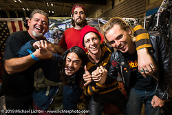 The Cycle Zombies were rock stars at the Annual Mooneyes Yokohama Hot Rod and Custom Show. Japan. Sunday, December 7, 2014. Photograph ©2014 Michael Lichter.