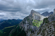 Mountain Peaks, Picos de Europa Mountains, Northern Spain