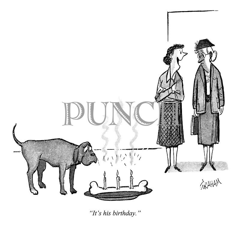 """""""It's his birthday."""""""