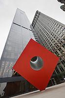Isamu Noguchi sculpture in New York October 2008