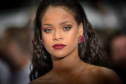 Rihanna attending the European premiere of Valerian and the City of a Thousand Planets at Cineworld in Leicester Square, London. Picture date: Monday July 24th, 2017. Photo credit should read: Matt Crossick/Empics Entertainment