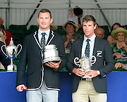 Henley on Thames. United Kingdom. Winners of The Double Sculls Challenge Cup. A. N. ARMS and R.W.MANSON, (Waiariki Rowing Club, New Zealand) 2013 Henley Royal Regatta, Henley Reach. 17:08:44  Sunday  07/07/2013  [Mandatory Credit; Peter Spurrier/ Intersport Images]