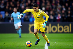 31 December 2017 -  Premier League - Crystal Palace v Manchester City - Ederson of Manchester City - Photo: Marc Atkins/Offside