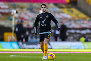 Pedro Neto (7) of Wolverhampton Wanderers warms up during the Premier League match between Wolverhampton Wanderers and West Bromwich Albion at Molineux, Wolverhampton, England on 16 January 2021.