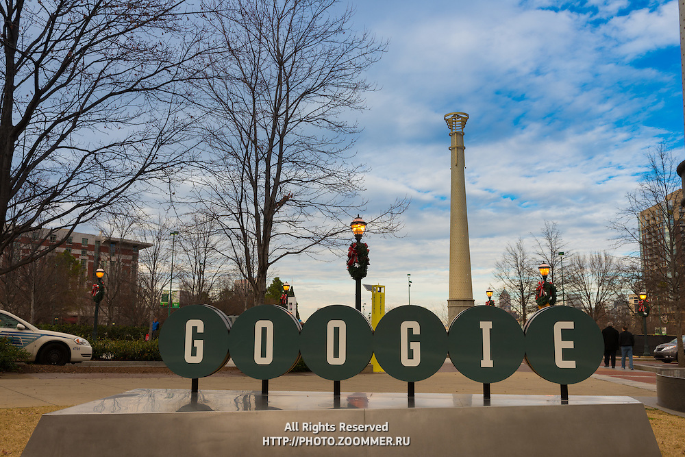Googie Burger in Centennial Olympic Park, Atlanta