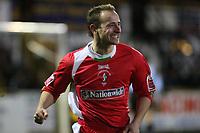 Photo: Pete Lorence.<br />Boston United v Swindon Town. Coca Cola League 2. 20/01/2007.<br />Blair Sturrock celebrates scoring the fourth goal of the match.