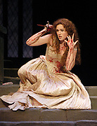 Miami -- Mar. 18, 2005 -- Florida Grand Opera production of Gaetano DonizettiÕs 1835 masterpiece Lucia di Lammermoor. Act III. SI %