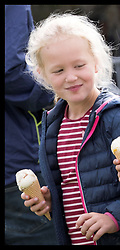 September 8, 2018 - Gatcombe, United Kingdom - Image licensed to i-Images Picture Agency. 08/09/2018. Gatcombe, United Kingdom. Savannah and Isla Phillips and Mia Tindall at the Whatley Manor International Horse Trials at Gatcombe Park in Gloucestershire, United Kingdom. (Credit Image: © Stephen Lock/i-Images via ZUMA Press)